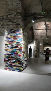 tidal flow art relocated - Christina Sylvia Simantira