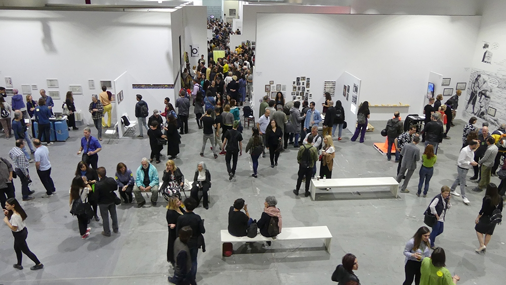 tidal flow art - fleves @ platforms 2019 - opening 3