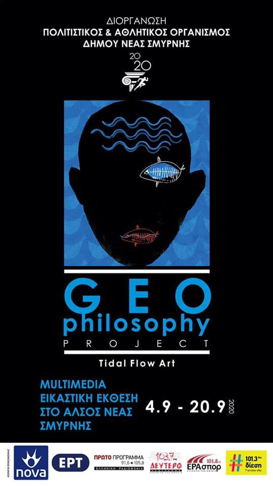 tidalflowart GEOphilosophy poster